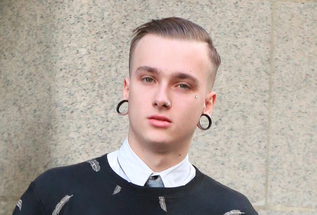 File photo of Charlie Alliston, now 20, was a delivery rider at the time of last year's fatal