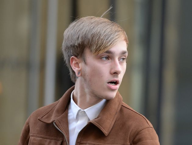 Charlie Alliston, pictured here earlier this week, is accused of running over and killing a mother-of-two...