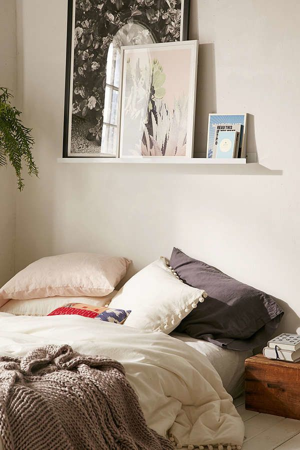 14 over the bed wall decor ideas huffpost - Over bed art ideas ...