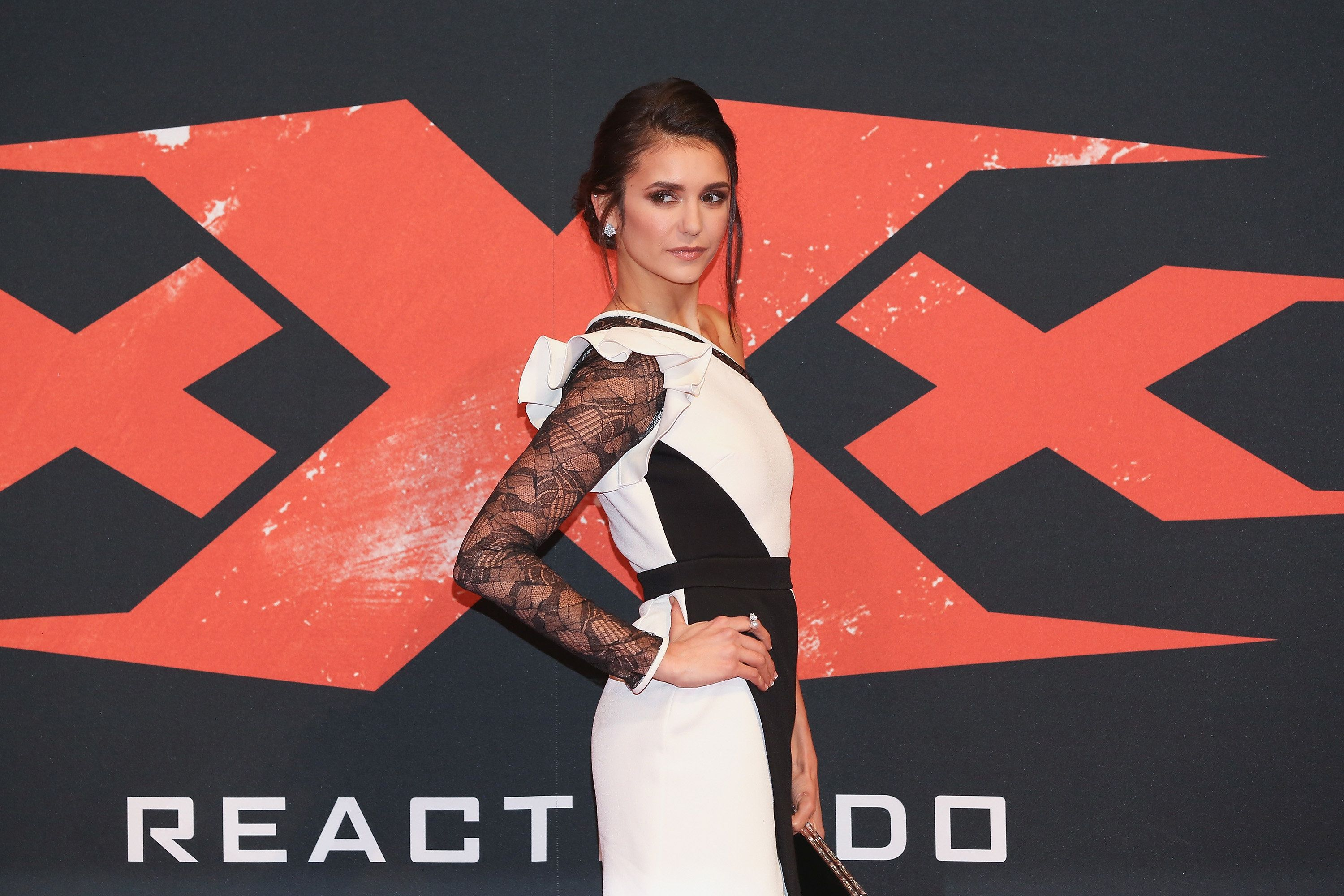 MEXICO CITY, MEXICO - JANUARY 05:  Nina Dobrev attends the Mexico City Premiere of the Paramount Pictures 'xXx: Return of Xander Cage' at Auditorio Nacional on January 5, 2017 in Mexico City, Mexico.  (Photo by Victor Chavez/Getty Images for Paramount Pictures)