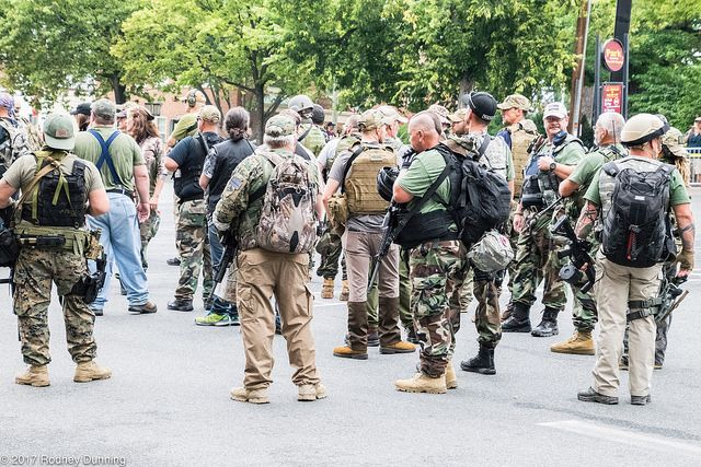 <p>Unite the Right Rally, Charlottesville, Virginia. Used under Creative Commons license.</p>