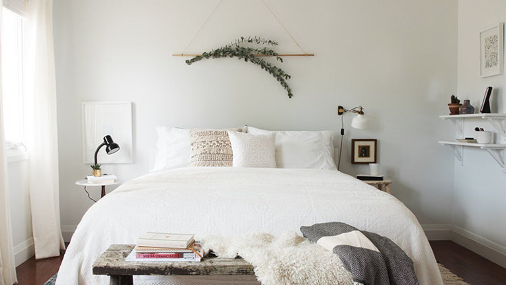 14 Over The Bed Wall Decor Ideas Huffpost Life