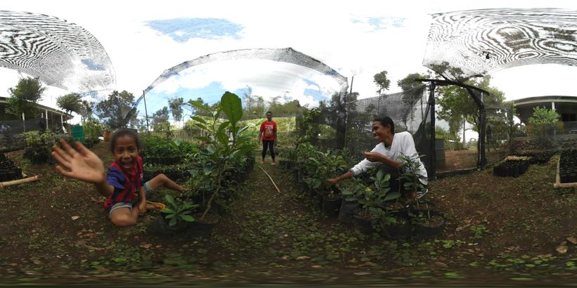 "Sustainable farmers in the village of Triloka, Timor-Leste as part of the VR Film <a rel=""nofollow"" href=""https://www.youtube"