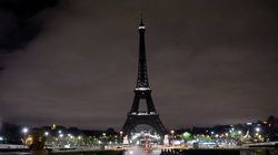 The Eiffel Tower Goes Dark To Honor Victims Of Barcelona