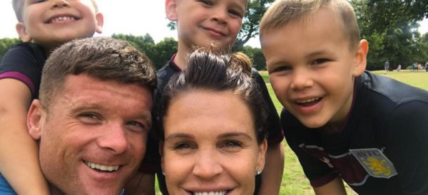 Danielle Lloyd Finds An Impressive Way To Fit Four Kids' Seats In The Back Of Her Car