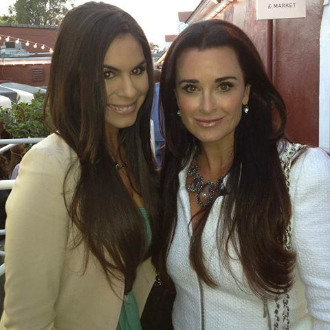 <p>More hobnobbing and I'm definitely having FOMO not living LA like Annabelle! Here she is with Kyle Richards of Bravo's <em>Real Housewives of Beverly Hills</em>.</p>
