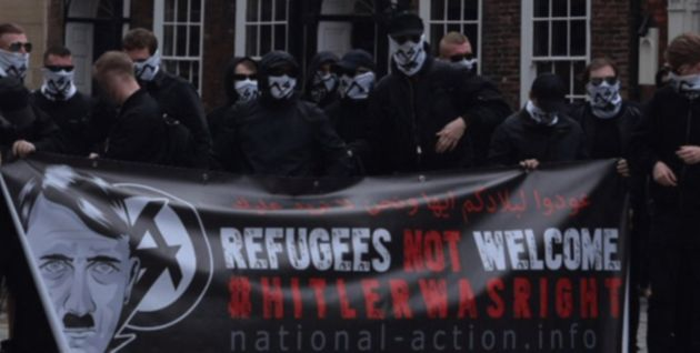 National Action were outlawed as a terrorist group in December 2016 by home secretary Amber