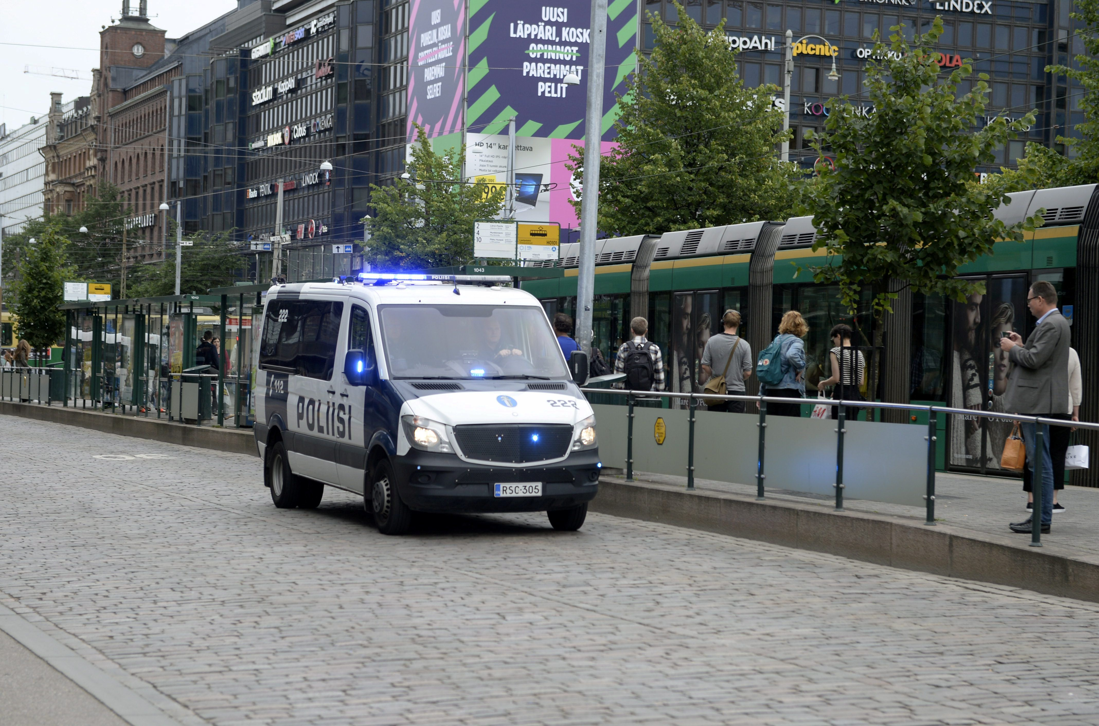Two killed in Finnish stabbing attack