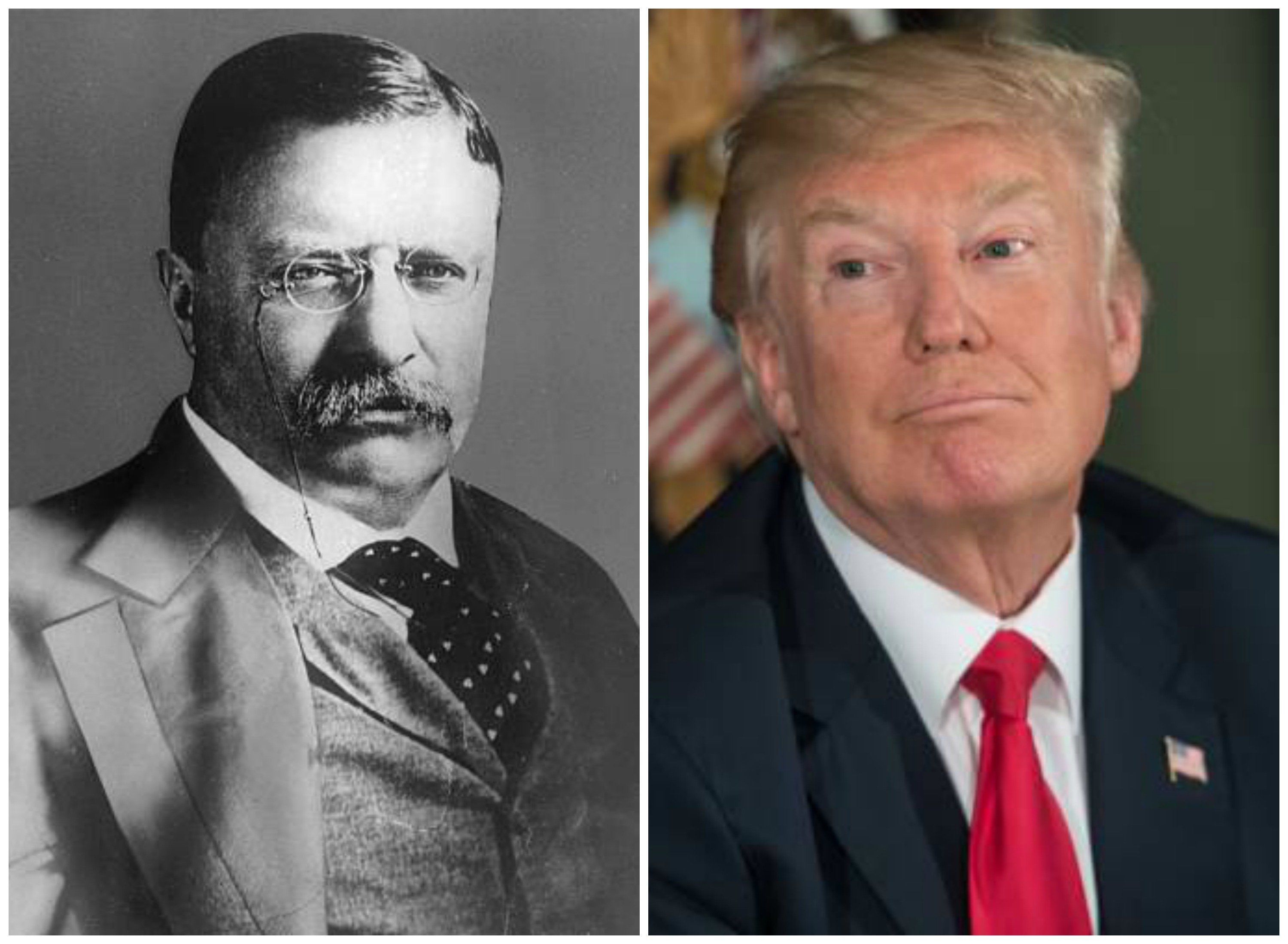 Pence likens Trump to one of his heroes: Teddy Roosevelt