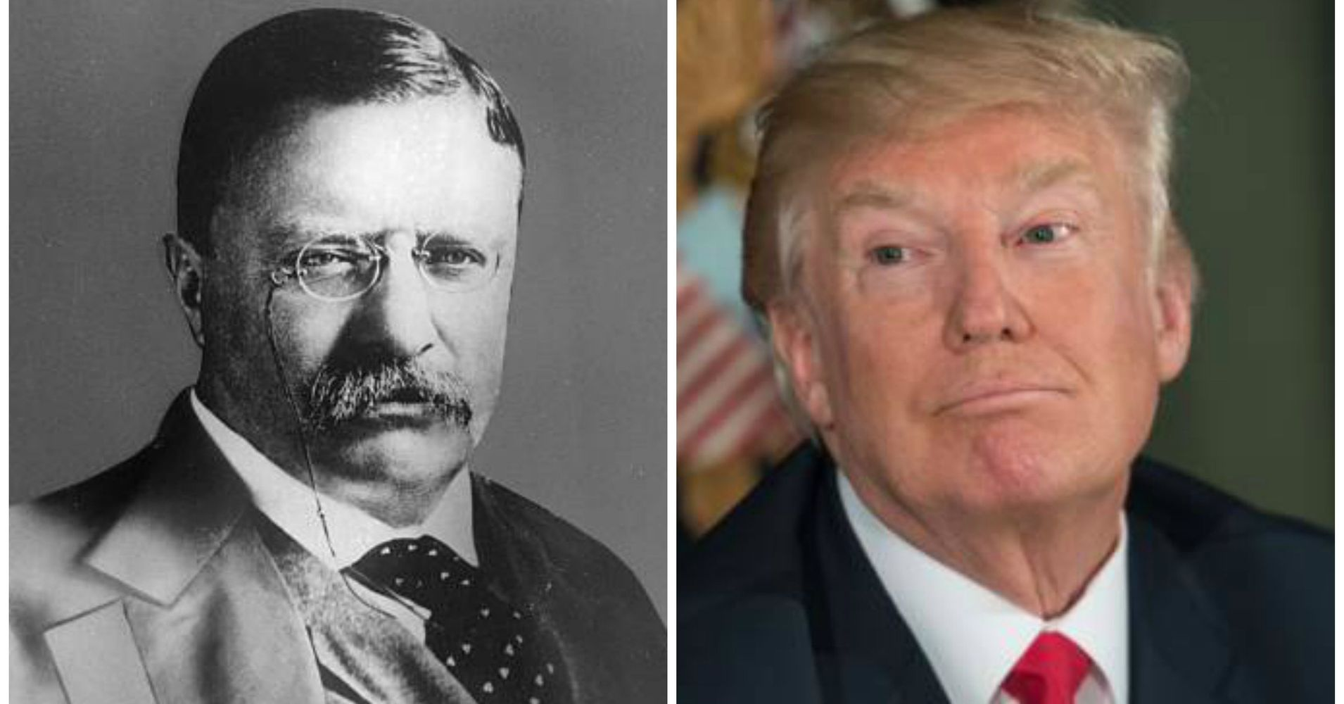 Pence Calls Trump A 'Builder Of Boundless Optimism,' Compares Him To Teddy Roosevelt