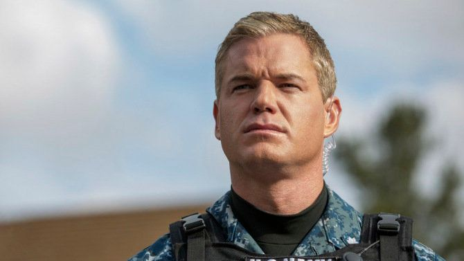 "Eric Dane as Tom Chandler on ""The Last Ship."""