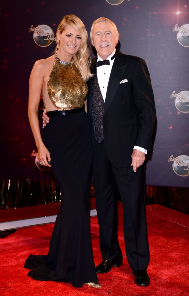 Bruce with his former 'Strictly' co-host, Tess