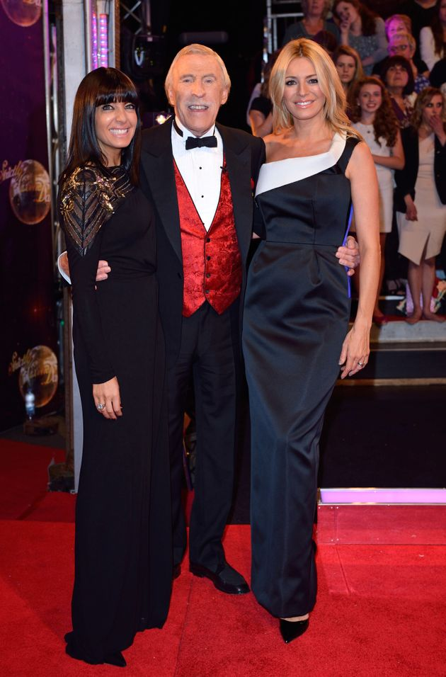Bruce with Claudia Winkleman and Tess