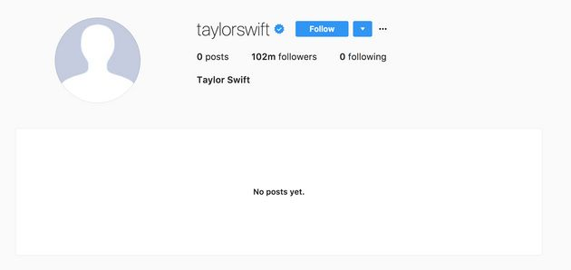 Taylor Swift Goes Dark On Social Media, Sparking Speculation From