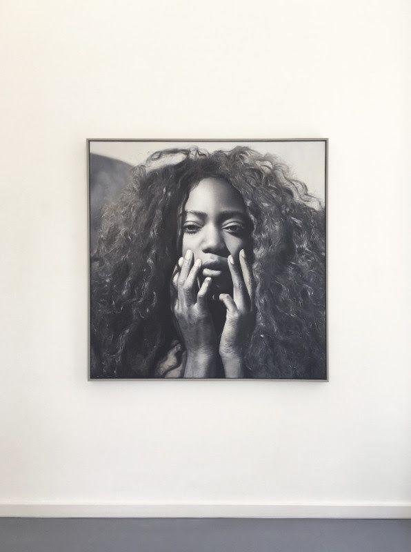 YIGAL OZERI, Medusa, 2017, oil on canvas, 54 x 54 inch | 137 x 137 cm