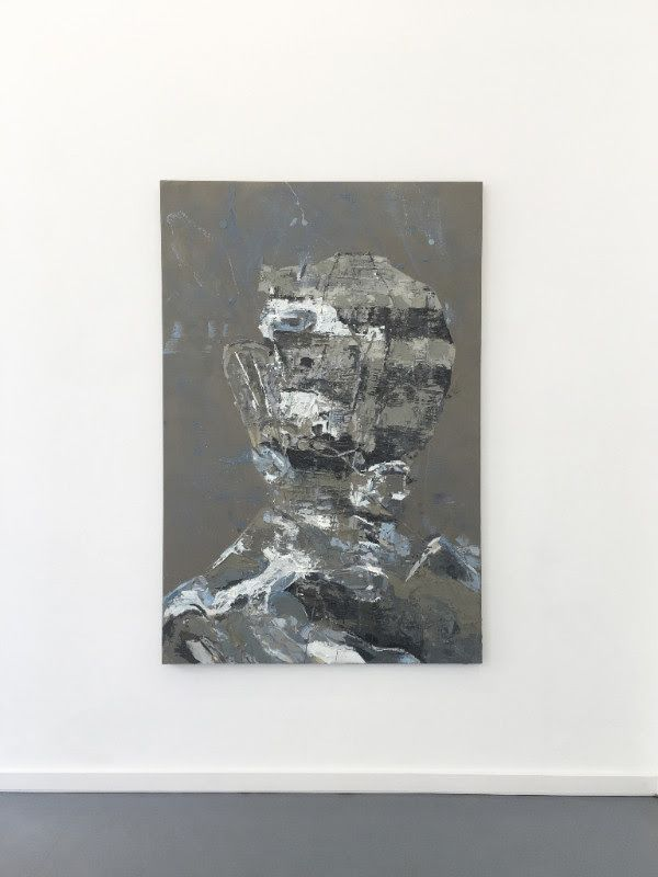 EUGENE LEMAY, untitled, 2017, oil on canvas, 72 x 48 inch | 183 x 122 cm