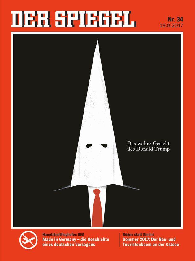 トランプ大統領がKKKに。 白人至上主義者の