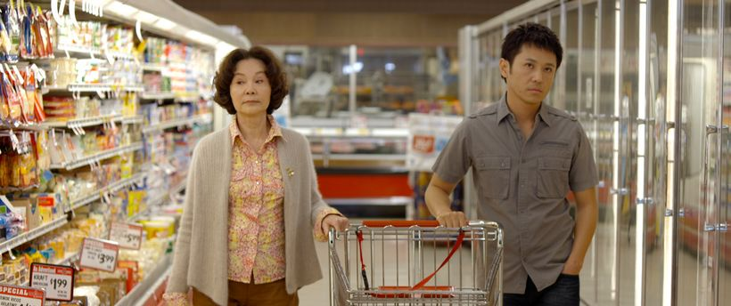 Grace Guei (left) and Barney Cheng (right) in BABY STEPS