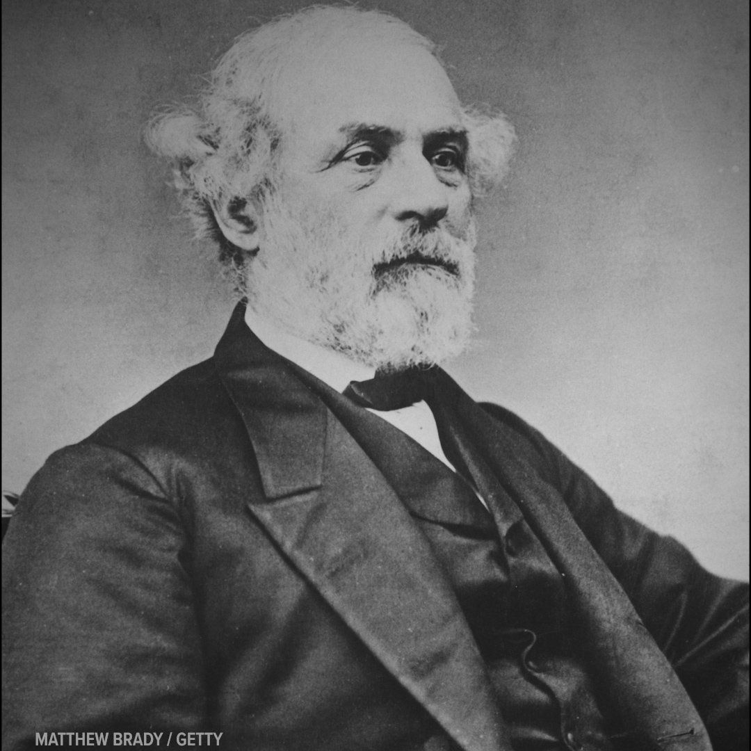 Conservatives often hail General Robert E Lee as one of historys greats