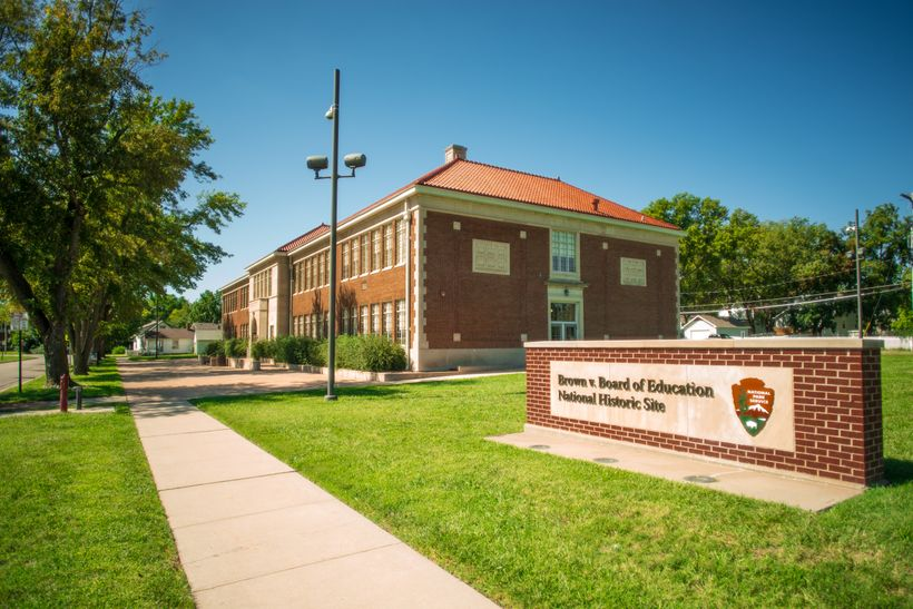 The Brown v. Board of Education National Historic Site in Topeka, KS