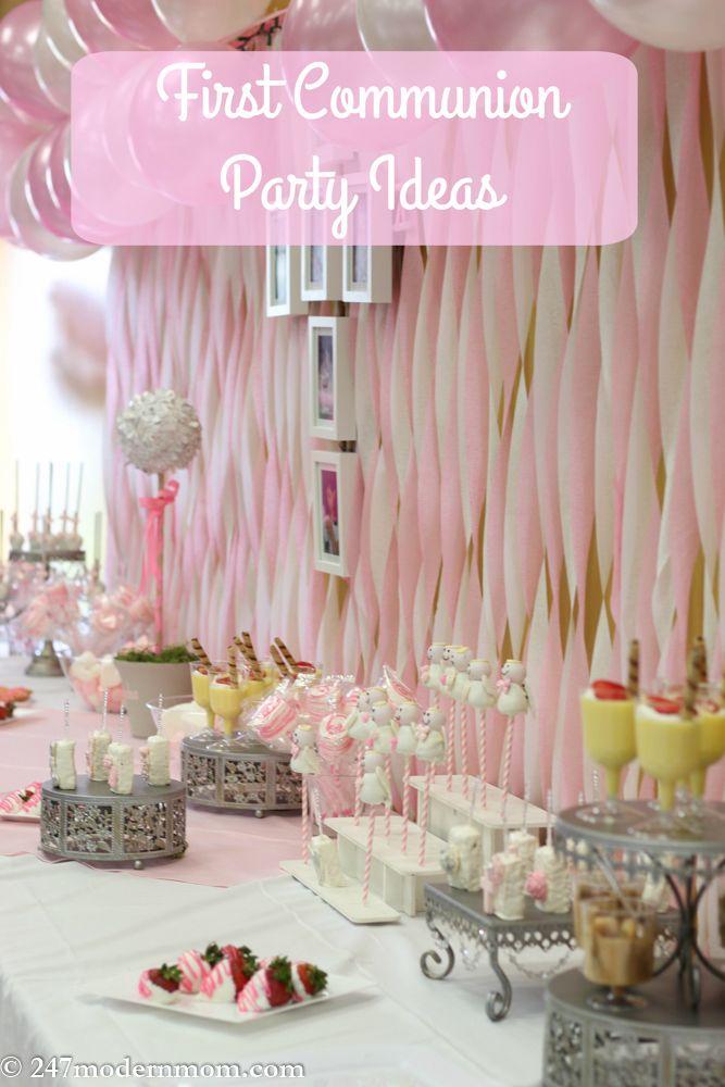 First Communion Party Ideas For Girls Huffpost