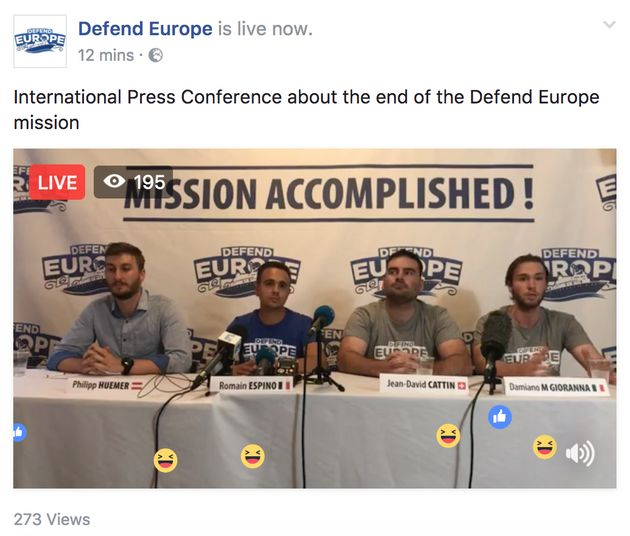 Defend Europe's C-Star Denied Entry To