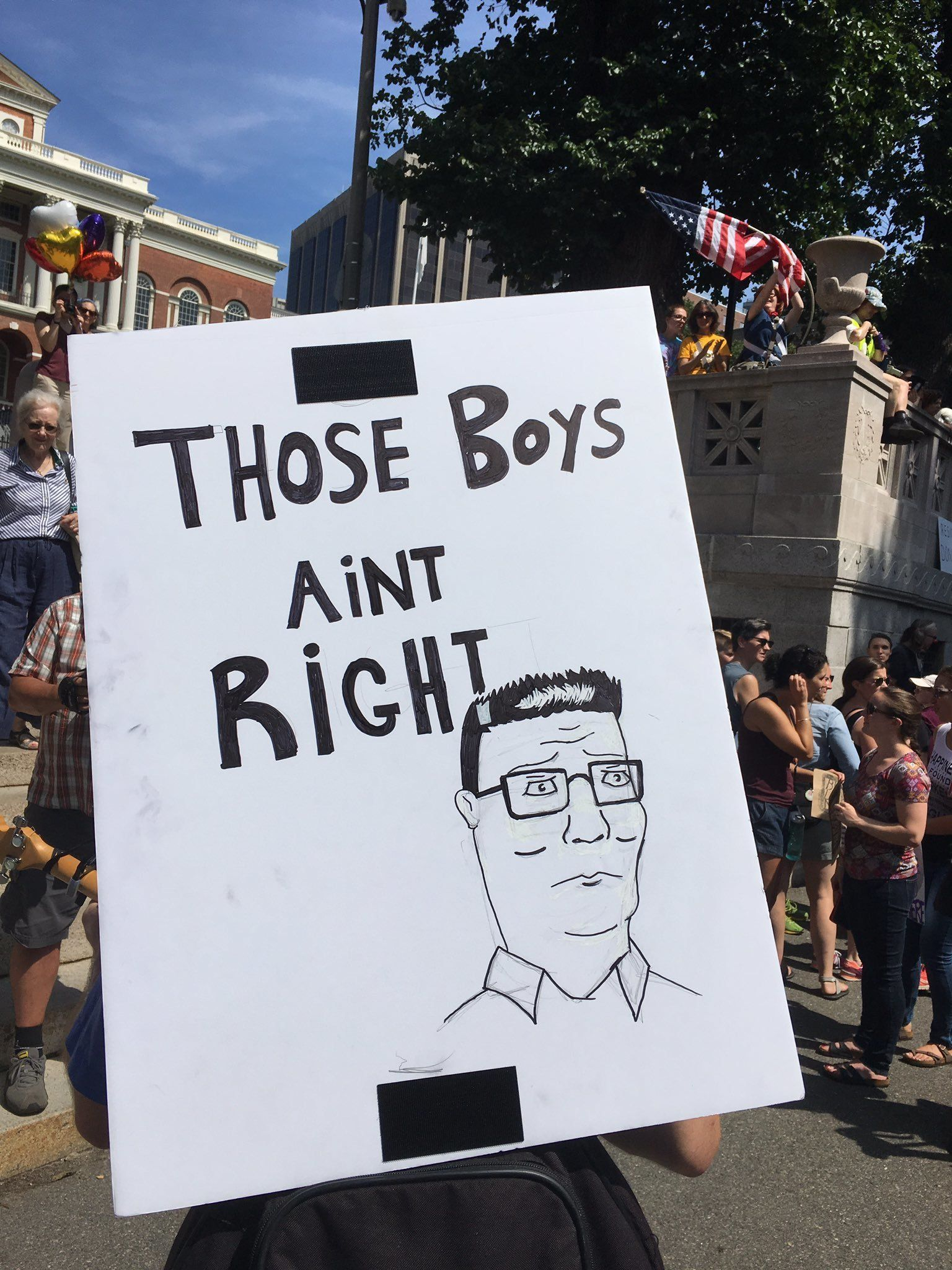 Counterprotesters Brought The Sass At This White Supremacist