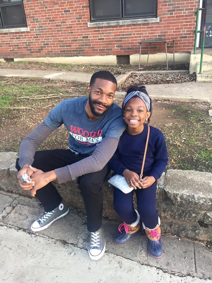 Randall Woodfin left campaigns in Birminghams Southtown neighborhood