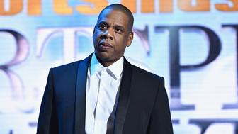 NEW YORK, NY - DECEMBER 12:  Jay Z speaks onstage the Sports Illustrated Sportsperson of the Year Ceremony 2016 at Barclays Center of Brooklyn on December 12, 2016 in New York City.  (Photo by Slaven Vlasic/Getty Images for Sports Illustrated)