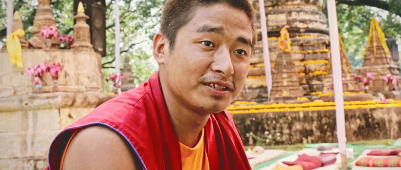 <em>Dechen, Student of Buddhism from Bhutan</em>