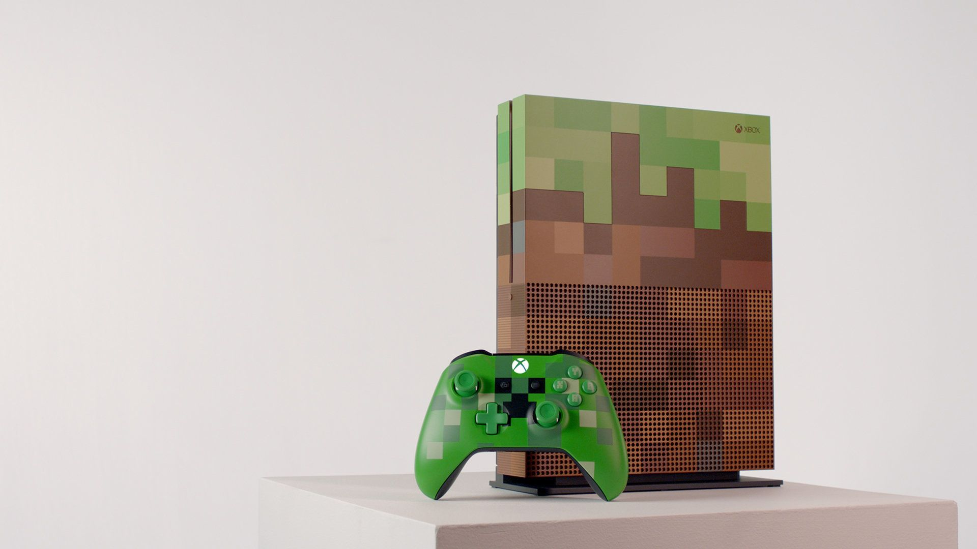 Microsoft's Xbox One S Minecraft Limited Edition Is A Thing Of Pixellated