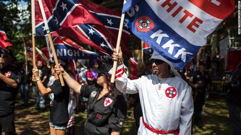 KKK rally met with counterprotesters in Charlottesville