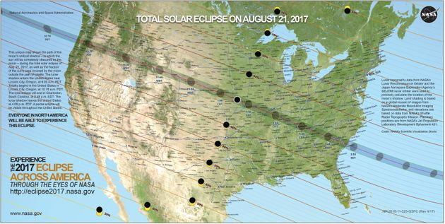What Time Is The Total Solar Eclipse 2017 And How To Watch It In The