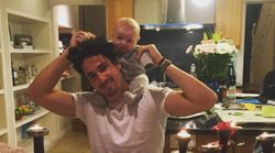 Binky Felstead Shares Sweet Snap Of Josh And Baby India At Dinner