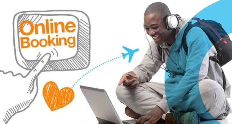 Book a hotel room through Hotel Booking Websites