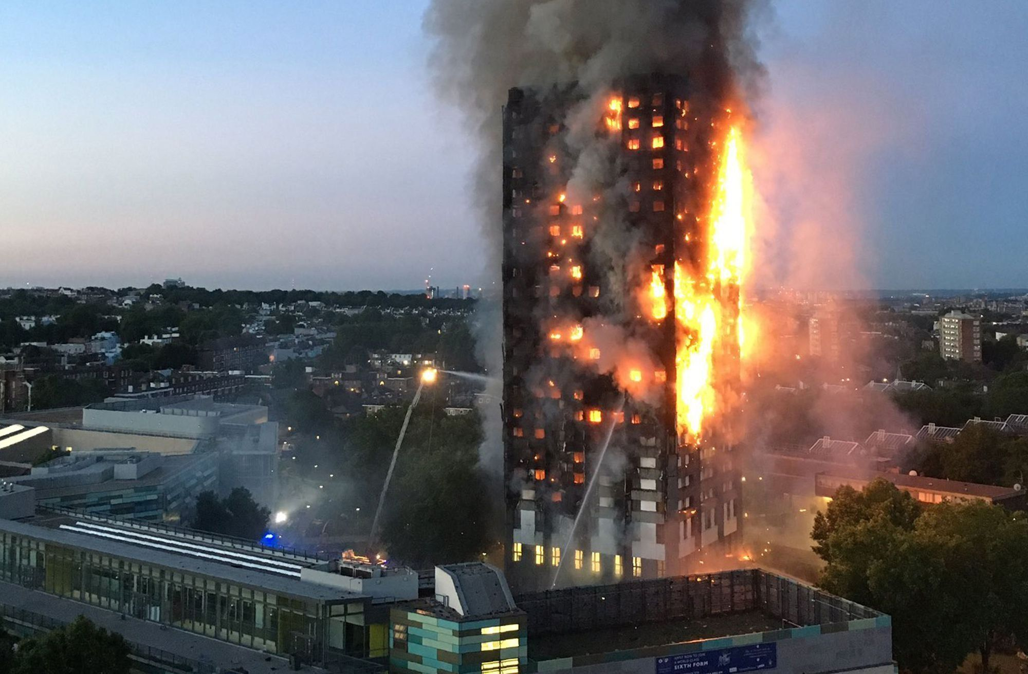 The Grenfell Tower fire - which killed dozens of people and left many families homeless - started in...