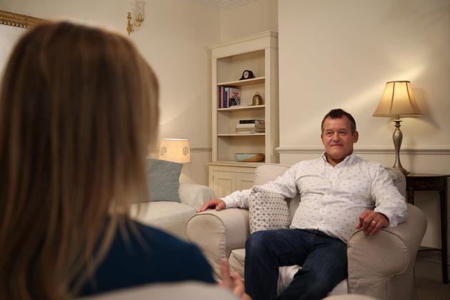 Paul Burrell speaks to Channel 5's 'In