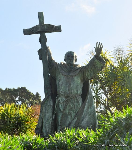 Father Junipero Serra by Douglas Tilden, Golden Gate State Park