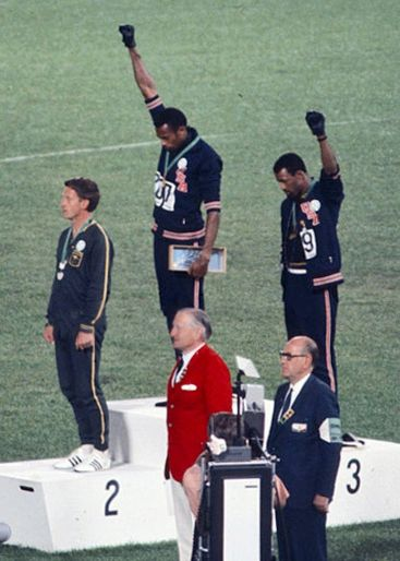 "<a rel=""nofollow"" href=""https://en.wikipedia.org/wiki/Peter_Norman"" target=""_blank"">Peter Norman</a> has become a symbol for"