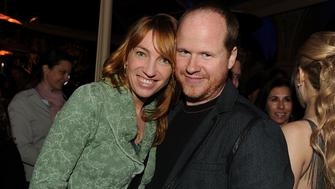 LOS ANGELES, CA - APRIL 12:  Kai Cole (L) and director Joss Whedon attend Fox's 'Glee' spring premiere soiree held at Bar Marmont on April 12, 2010 in Los Angeles, California.  (Photo by Kevin Winter/Getty Images)