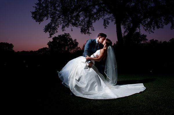 """Aaron and Danielle married in Beloit, Wisconsin."" --<i>Amanda Reseburg</i>"