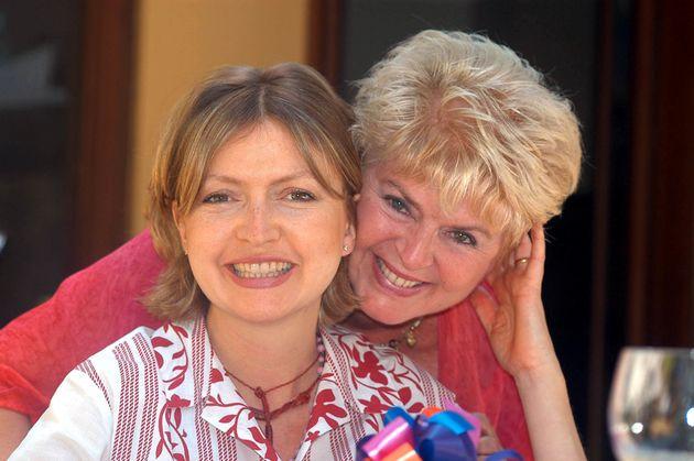 Caron and Gloria in