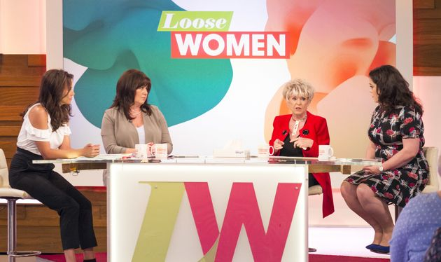 Gloria and her fellow 'Loose Women'