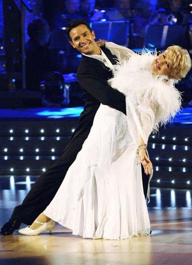 Gloria danced with Darren Bennett on
