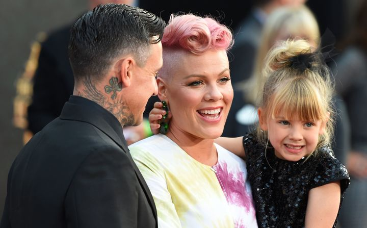 Pink's daughter, Willow, is 6 years old.
