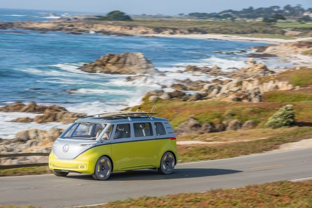 Iconic VW Camper Van To Return In 2022 As An Electric