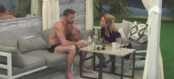 CBB's Chad Johnson Tells Sarah Harding He 'Loves' Her, Following Blazing Row About Booze