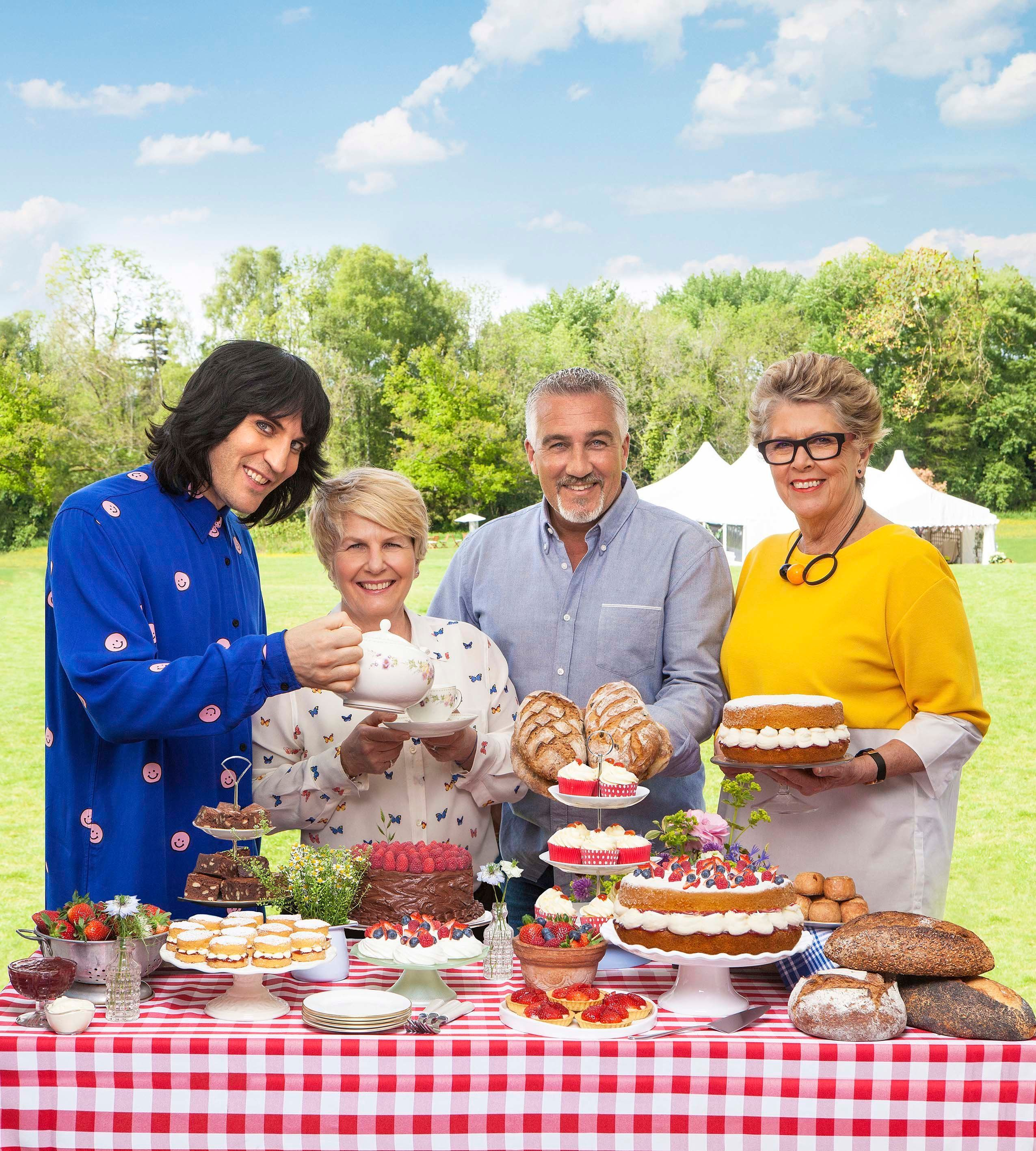 Noel Fielding And Sandi Toksvig Explain Why Their Double Act Is More Than A Match For Mel And Sue On 'Bake Off'