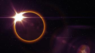 Solar Eclipse Space Moon Event