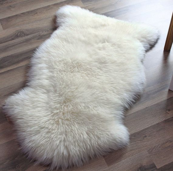 "Step into a lap of luxury with this genuine sheepskin rug. <a href=""https://www.etsy.com/listing/204620047/genuine-sheep"